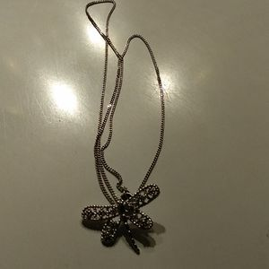 Jewelry - Sterling dragonfly on chain